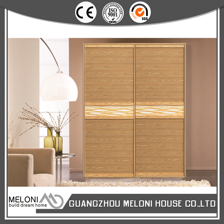 Full standing shutter wood sliding wardrobe export to Philippines
