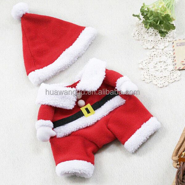 Pet Christmas jumper, fleece lined winter jumpsuit, new pattern pet dog Christmas costume