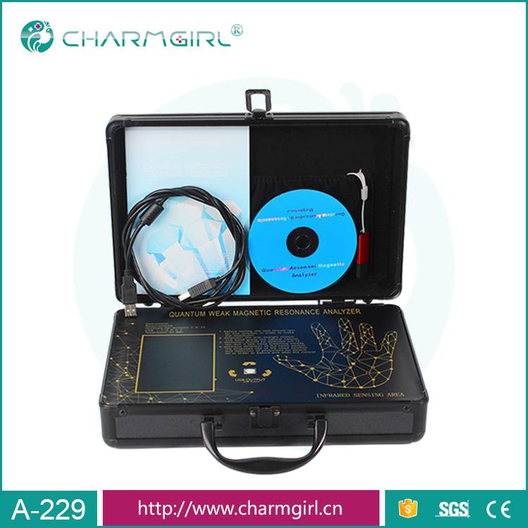Newest ! 6th generation  mini quantum magnetic resonance body analyzer with  46 reports