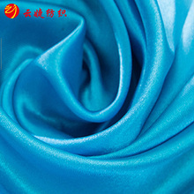 Ladies Fashion Polyester Bright Acetate Satin Fabric