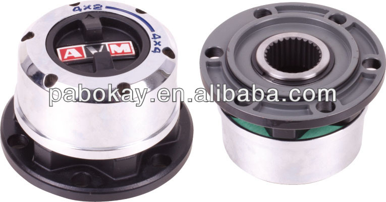 For MITSUBISHI Pajero,Triton, L200 4x4,Montero,90-00 HYUNDAI Galloper Dodge locking free wheel hubs B012 AVM443