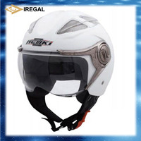 ECE approved ABS shell half face helmet with removable lining