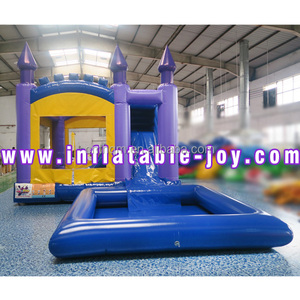 inflatable jumping house/bounce combo/bounce house with water pool