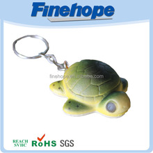 Turtle Shaped Mini Printing Key Chain