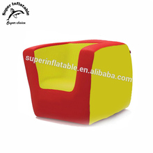 PVC Flock Inflatable Mobilier Customized Furniture Chair