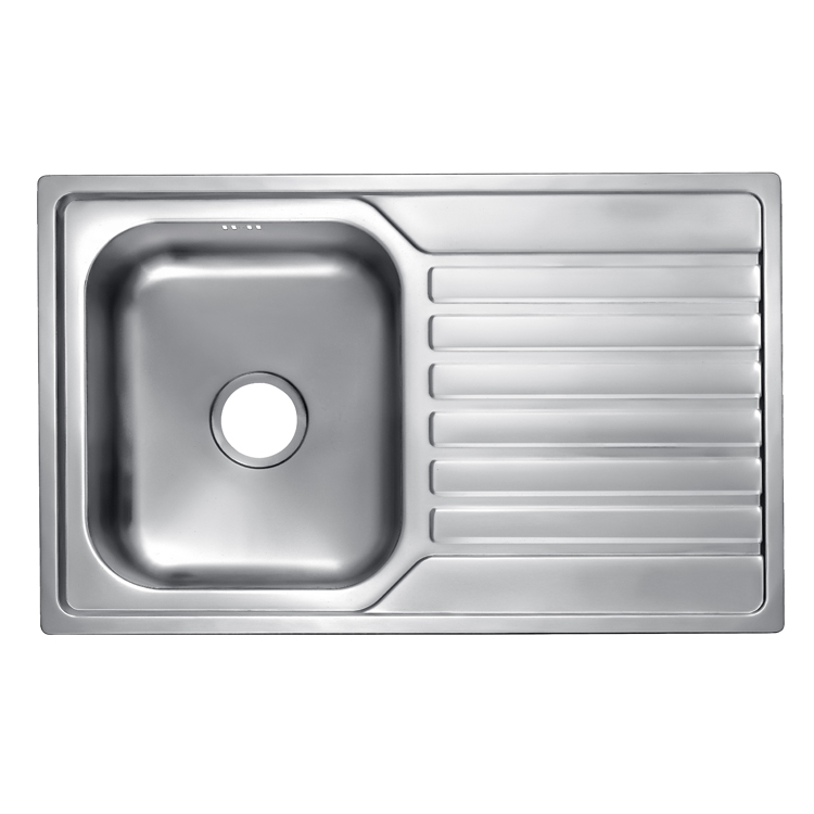Home Kitchen Appliance New Design Single Bowl Grade 304 Stainless Steel Sink