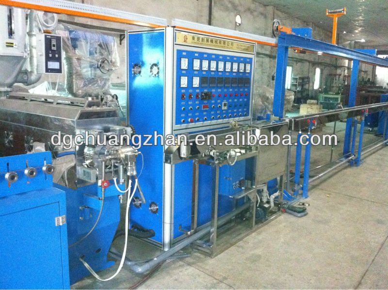 Hot sale PVC/PE wire extruding machine making cable equipment