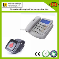 Best selling!! SOS Emergency button Telephone for old people corded telephone