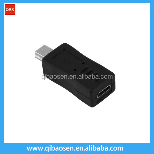 Mini USB Male to Micro usb Female Converter Connector Transfer data Sync Charger Adapter for MP3 MP4 Tablets Cable