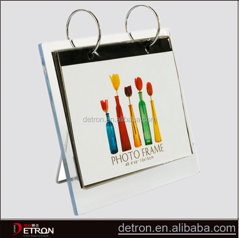 Wholesale acrylic desk calendar display stand
