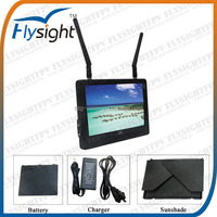 H014 32 Channels FPV Monitor with Diversity Receiver for rc quadcopter kit,Flysight LCD Monitor for Radio Control System Hobby