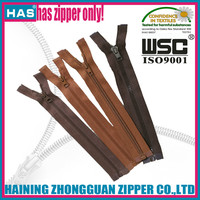 HAS zipper plastic zipper nylon zipper factory selling paint textile fasteners