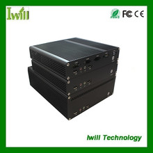 2015 hot sale thin mini fanless itx pc case for car pc