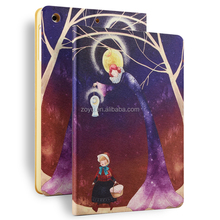 color printing pu leather case for ipad mini 1 2 3 wholesale cheap price