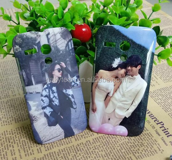 Good quality white blank 3d custom sublimation mobile phone back cover case for moto g
