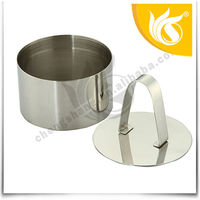 Round Metal Stainless Steel Mouse Shaped Cake Mould