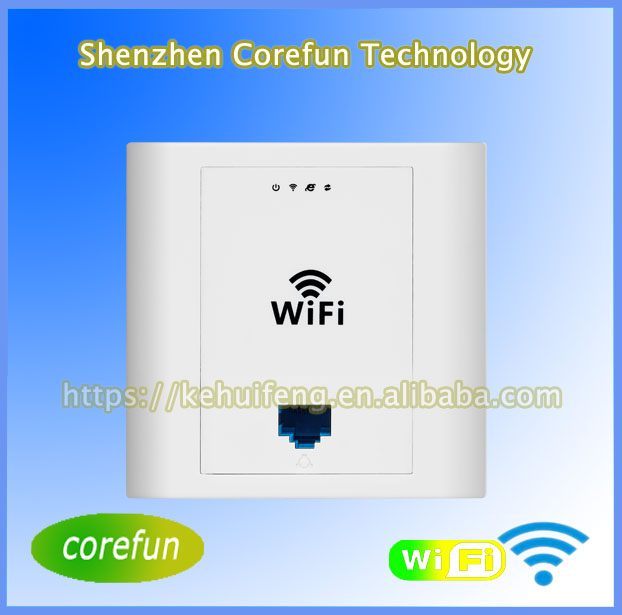 300Mbps Wall Mount Wireless Access Point PW310