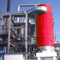 Industrial Gas and oil Fired heat transfer fluid boiler