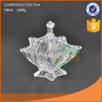 Wholesale glass candy bottle with high quality & different shapes