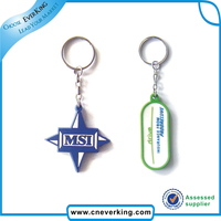 certificate supplier stock innovative multi ring keychain