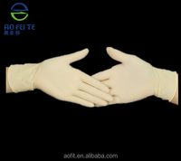 china supplier Rubber Factory Disposable Rubber Latex Exam Gloves