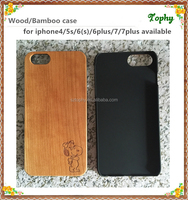 2016 Wholesales Creative Cell Phone Case For Iphone 7, For Iphone 6plus Laser carving Wooden Phone Case Cover