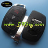 Modified 2+1 button smart key covers for hyundai key cover hyundai flip key