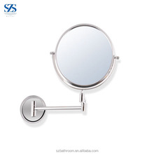 Circle Base Stainless Steel Chrome Paint Magnifying Mirror x20