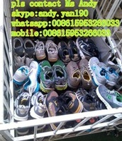 Lots container used shoes and sell famouse Branded Second hand shoes