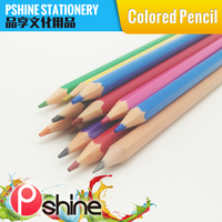 High Quality Custom Color Plastic Woodless Color Pencil