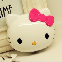 Promotional Gift portable charger Hello Kitty power bank 4000mah with logo printing for smartphone