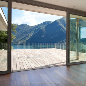 Cheap aluminum alloy glass sliding door design
