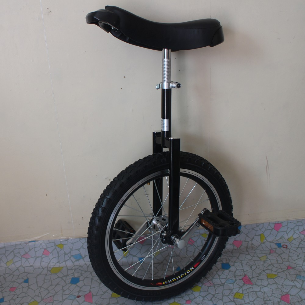 <strong>Motorcycle</strong> 18 inch monocycle with one wheel Single wheel bicycle Black color Double Alloy rim CE/ASTM F963-11