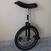 Motorcycle 18 inch monocycle with one wheel Single wheel bicycle Black color Double Alloy rim CE/ASTM F963-11