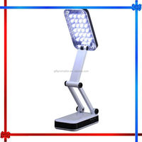 MW132 folding led desk lamp rechargeable