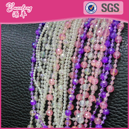 Beaded Jewelry Imitation Crystal Plastic Beads String For Wholesale