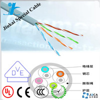 1/2/4 core ftth fiber optic drop wire outdoor with self-supporting network cable