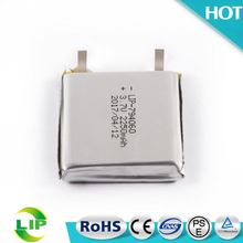 Customized rechargeable 794060 2250mah 3 7v li ion polymer battery