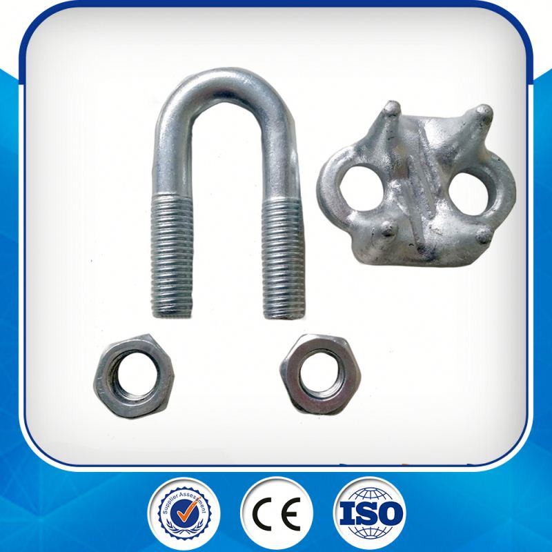 Hdp Us Type Drop Forged Steel Wire Rope Clip Clamp
