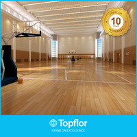 2017 New High Quality Portable Basketball Court Wooden Sports Flooring