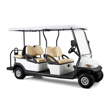 high quality good price 4 plus 2 seats electric golf cart with aluminum chassis Trojan battery