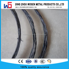 low price 1.24mm Double soft Black Annealed Twisted wire for Brazil