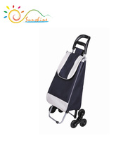 Hand trolley 3 wheels shopping carts