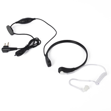 AR Two Way Radio Transceiver Throat Control Headset for Refree