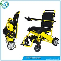 Lightweight portable medical electric wheelchairs and walkers
