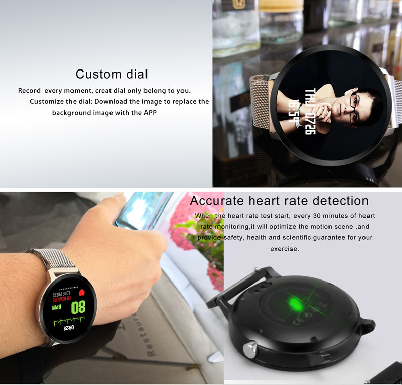 Fitness smart watch 2018 V11 Sport Pedometer IP67 Waterproof Activity Fitness Tracker Heart Rate Monitor Smartwatch