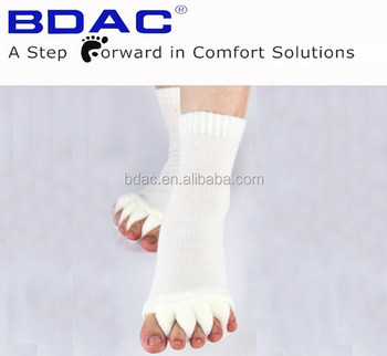 soft toe support toe separate sock toe socks