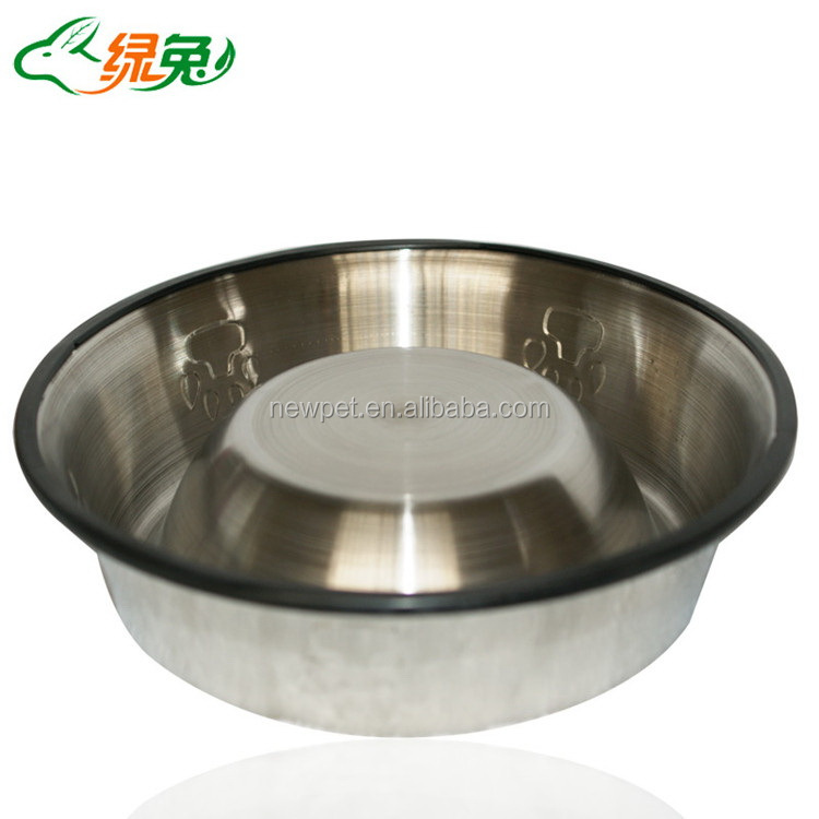 Quality primacy hot-sale non slip stainless steel bowl fun dog bowl large dog