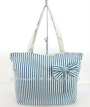 2012 new blue pretty bows styles US$1.38~1.8 lady trendy bag