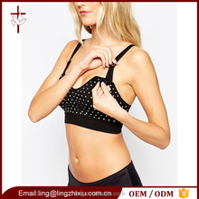 Wholesale High Quality Maternity Clothes Polka Dot Nursing Bra